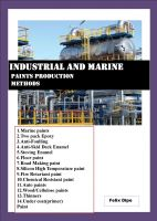 INDUSTRIAL AND MARINE PAINTS